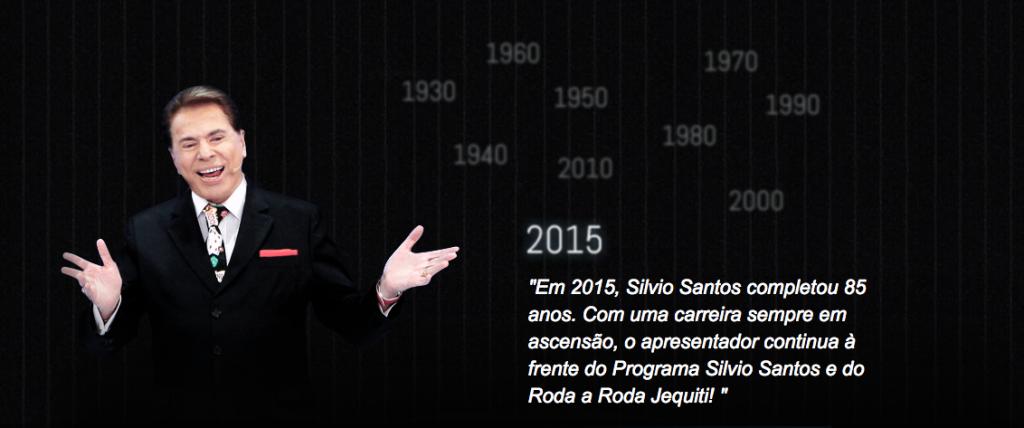 Trajetória de Silvio Santos